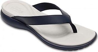 V Sandalen Capri Grau Damen Flip Crocs schwarz Für weiß 47S1Wq4xn