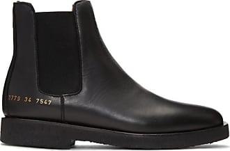 Chelsea A Ssense Common Bottes En Cuir Exclusives Projects Noires wfHqgwO