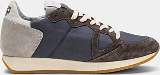 SneakersMonaco Vintage antracite Philippe Gris Years 70 Model n0P8wkO