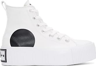 Mcq By Mcqueen A Plateforme Montantes Baskets Blanches Alexander U6qrxa6