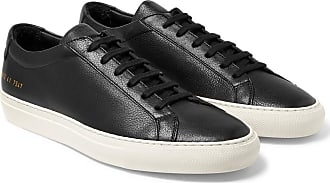 Original grain Achilles Black Projects Sneakers Leather Full Common wUvqARB