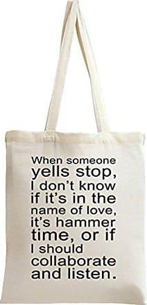 Tote Yells Bag Styleart Stop Someone When Slogan w6qXRU