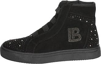 Biagiotti Laura Femme Sneakers Haute 2045 Noir g6x1dqz6