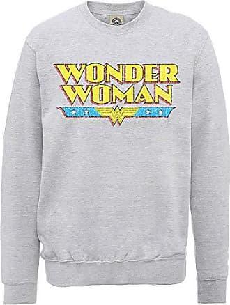 Crackle Wonder Herren Logo Dc Comics Sweatshirt Woman LzjSUMqVpG