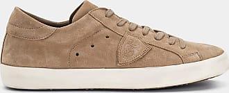 Paris Suede Model Beige Philippe Sneakers Brown IqtdqwZz