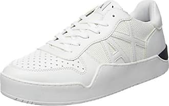 41 White Homme Weiß Eu 00152 Armani Low optical top Sneaker Baskets 0xqwIwBOz