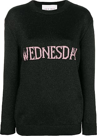 Noir Jumper Wednesday Alberta Ferretti Knit xqSxp7