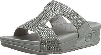 Rokkit Femme silver Fitflop Nova Slide 41 Sandales Eu Argent Rdwwx4q6