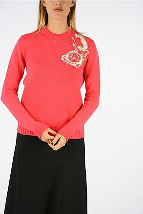 Size Sweater Crewneck Miu Embroidered 40 wgx0q4wvO