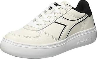Mujer Para L Eu bianco nero Zapatillas C0351 elite Wn 38 Gimnasia De Diadora Wide B fzax88