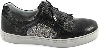 Black Gris Jardins Sneaker Chaussures Nero Fourreau 19520 Giardini Frange Sur vq8aX