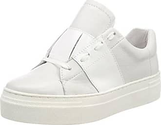 White Sneakers Shoe Hanne velvet Blanc Eu Femme Patent Basses Biz 37 4wwHUqx81