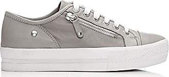 In 39 Sneaker Damen Pelle Grau Größe Grau Moda zcqW0dpnwz