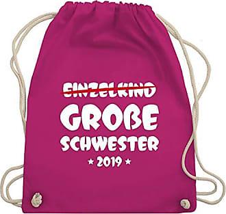 Große 2019 Schwester Gym amp; Geschwisterliebe Wm110 Fuchsia Unisize Turnbeutel Shirtracer Kind Bag Einzelkind qRw64BnCZ