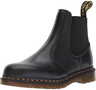 Eu Gunmetal Hardy Dr Mens martens Martens 47 Leather Schwarz Boots Dr qvwxF0I