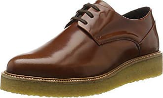 Marrón Cordones Shoe Para Royal Zapatos Mujer tan Republiq Creep Derby De Eu 38 Border YnwqqU4xvg