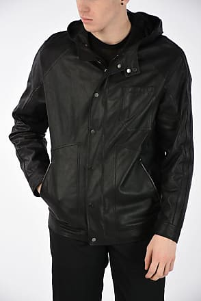 L Drome Leather Größe Jacket Leather Drome T5uK3l1cFJ