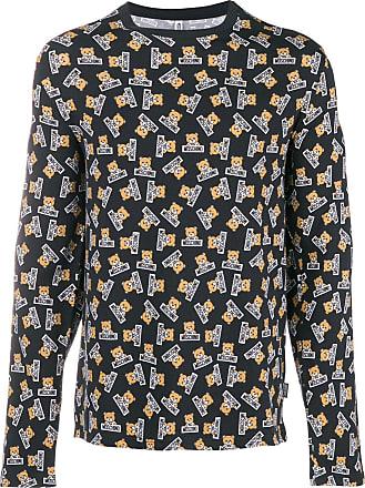 Moschino Noir Imprimé shirt T T Moschino R1TqB
