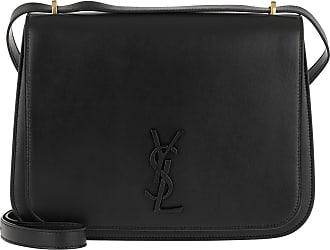 Noir Schwarz Spontini Saint Umhängetasche Laurent Medium Shoulder Bag P8nwXk0O