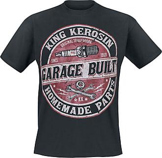 BuiltT Schwarz shirt Garage King Kerosin dxBeCo
