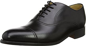 Oxford Negro Hombre Para 41 Nevis black Zapatos Barker Eu De Calf 17 Cordones IU0aU