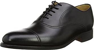 black Hombre Para 17 Cordones Barker Eu Zapatos Oxford 41 Calf Nevis Negro De wW1q1X86Yx