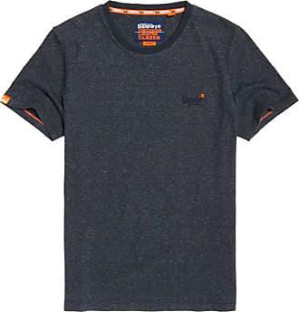 T shirt Stickerei Superdry Orange Mit Label Vintage qwxwPtB4O
