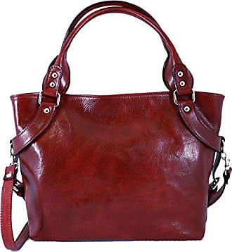 Damentasche Schulterriemen Mit Made Rot Leather Italienische Echtes Dream In Lederwaren Entfernbare Leder Handtasche Farbe Italy Bags pAWawqcZ