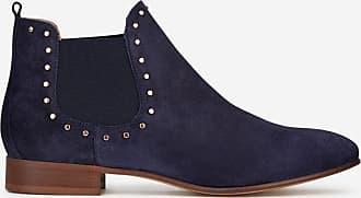 Chelsea Lafayette Galeries Daim Boots En Bleu Madeleine KTJclF1