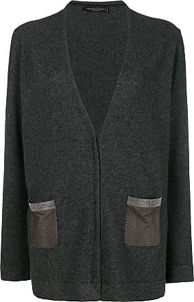 Gris Embellished Cardigan Pocket Filippi Fabiana wIqUFF