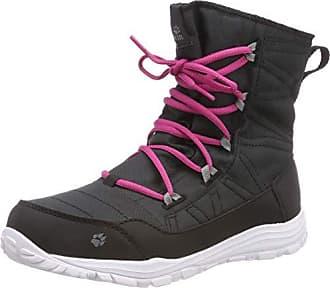 nero per Boot 35 Rise Jack Portland G ragazze 6000 Eu Shoes High Wolfskin Escursionismo nero SqaRH