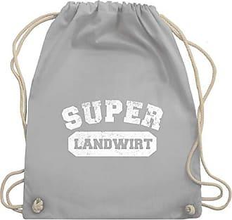Unisize Wm110 Shirtracer Hellgrau Super Landwirt Bag Turnbeutel Vintage Gym amp; xq4Ff