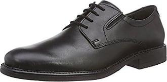 46 Negro Color Cuero Talla Zapatos Robbie Hombre Cordones Men Fretz De Con 6HPOWUq