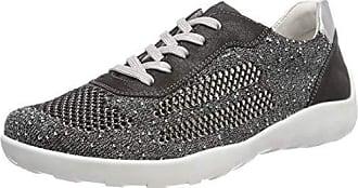 Eu R3503 41 Remonte Zapatillas schwarz Negro Mujer Para graphite 02 silver RqvwdqPT