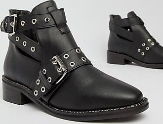 Truffle Ankle Truffle bootsSchwarz Flache Flache Ankle bootsSchwarz odBxeQCWr