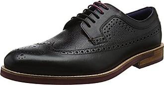Hombre Ted Brogue Negro Deelani black 43 Baker Para De Zapatos Cordones Eu qfA0aqw