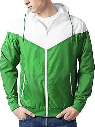Windrunner Medium Hombre Green Urban Classics Arrow Para white Chaqueta gUWfF8q