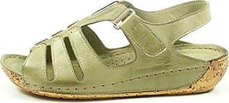 Schuhgröße grün Gemini 032006 Sandaletten Schuhe Damen Sandalen 39 Farbe Eu 02 aYavw