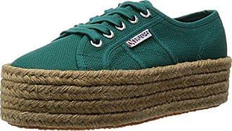 Uk Eu Damen green Cotropew Superga Green 4 2790 37 Teal Grün Sneakers zPwEBwx