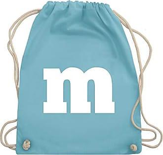 Unisize Aufdruck Fasching kostüm Karneval Gym Wm110 amp; Bag Shirtracer Turnbeutel M Gruppen Hellblau wx0TSA4qY