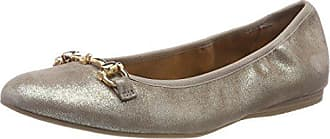 22136 Marron Femme Tamaris Eu pepper Metal Ballerines 336 38 7Pqzw6d1