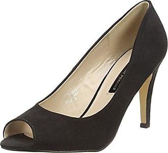 De 130 40 Punta Perkins Dorothy black Mujer Zapatos Clover Negro Para Eu Tacón Abierta Con tW4O7qnO