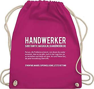 Turnbeutel Wm110 Fuchsia Unisize Bag Shirtracer amp; Handwerk Gym Handwerker nqxwgR1