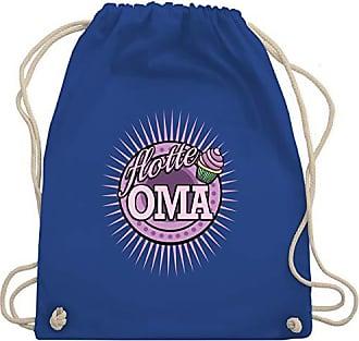 Wm110 Shirtracer Gym Flotte Bag Turnbeutel Royalblau amp; Oma Unisize wrrWqpnIR