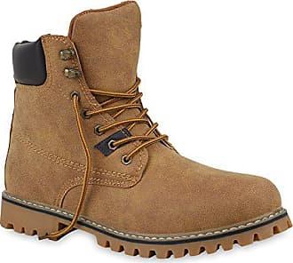 Schuhe Sohle Worker Boots Leicht Gefütterte Outdoor 42 Avelar Stiefelparadies Herren Profil Flandell 153327 Hellbraun 5w6qZWxBnw