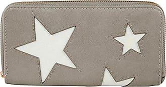 Börse Geldbeutel Star Damen Sterne taupe Stern Farbe Portmonee Shaghafi Geldbörse Mit Reißverschluss Portemonnaie FxIFwqYvB