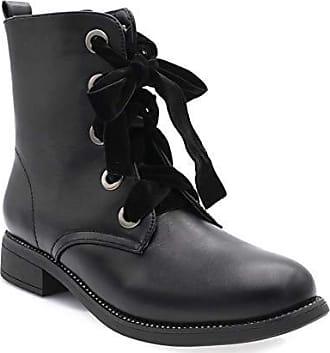 Stiefeletten Shoes Eu Schwarz Fashion amp; Damen Stiefel 41 Forms Größe XTw5Uq
