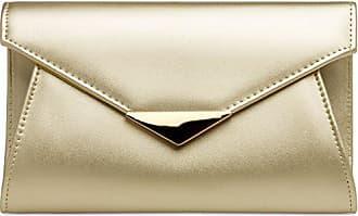 Langer Envelope Mit one Caspar Damen Size Elegante Xl Kette Clutch abendtasche gold;größe Farbe Fashion Tasche Ta363 Umhängetasche XqXwPH4