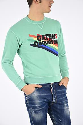 Xs Sweatshirt Size Crewneck Dsquared2 Printed yNwOm08vn