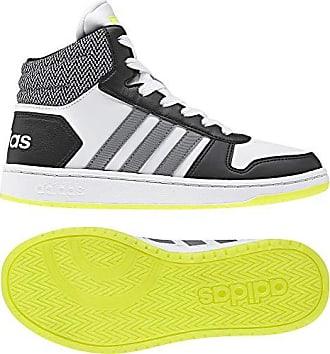 1 Hoops gritre Unisex 2 Eu 0 Zapatillas ftwbla De Adidas 39 000 Blanco Adulto 3 Deporte K negbas Mid Rqdn7a